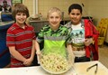 Students participate in coleslaw competition image