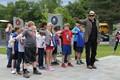 Fourth graders visit Sidney Veterans Memorial Park image