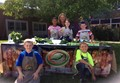 Students at Sidney Elementary's farmer's market