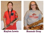 October Band Member's of the Month