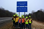 Tri-M cleans up Route 8
