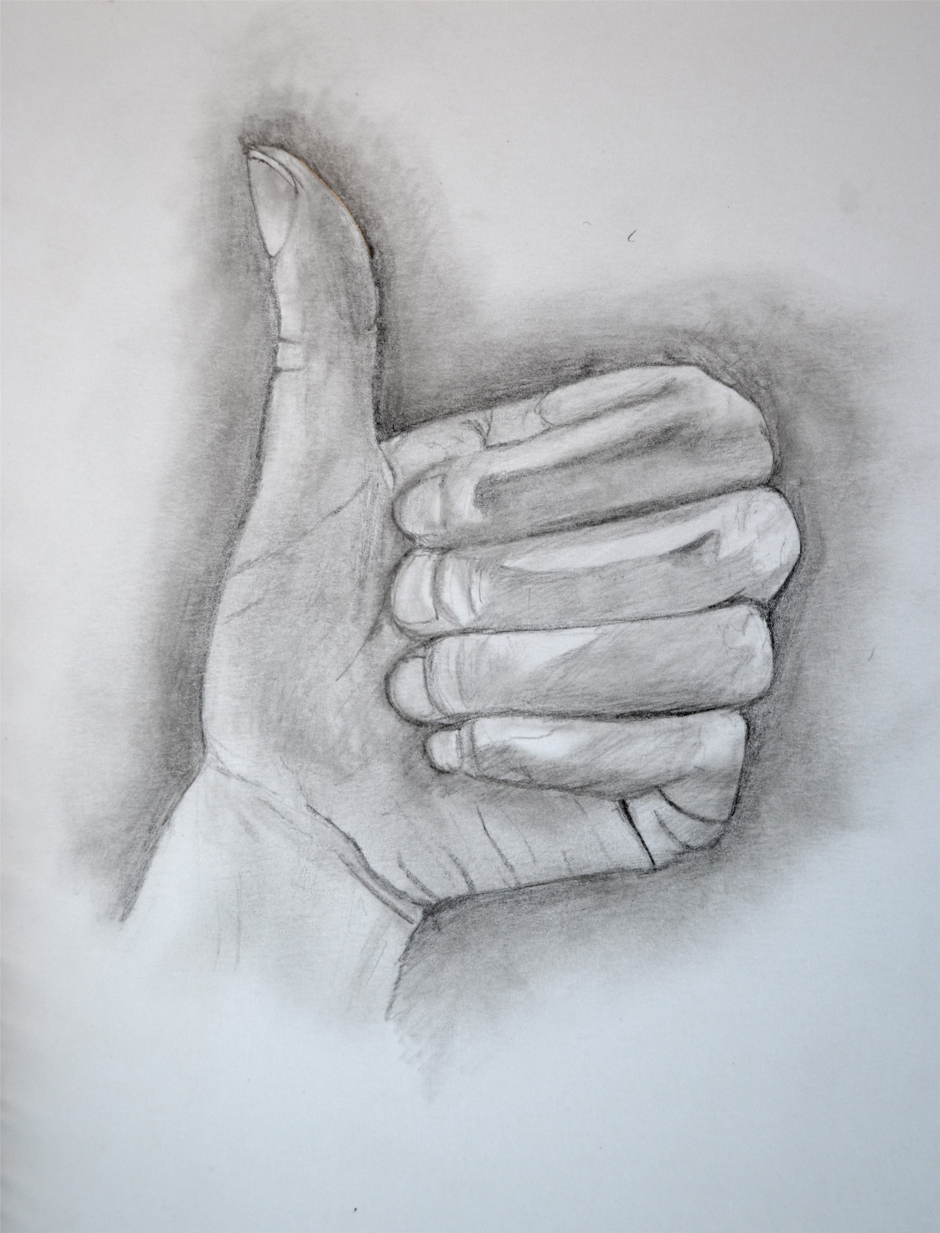 CORY NORDBERG, Prelinary Hand Drawing, graphite, 12 x 9, 2015