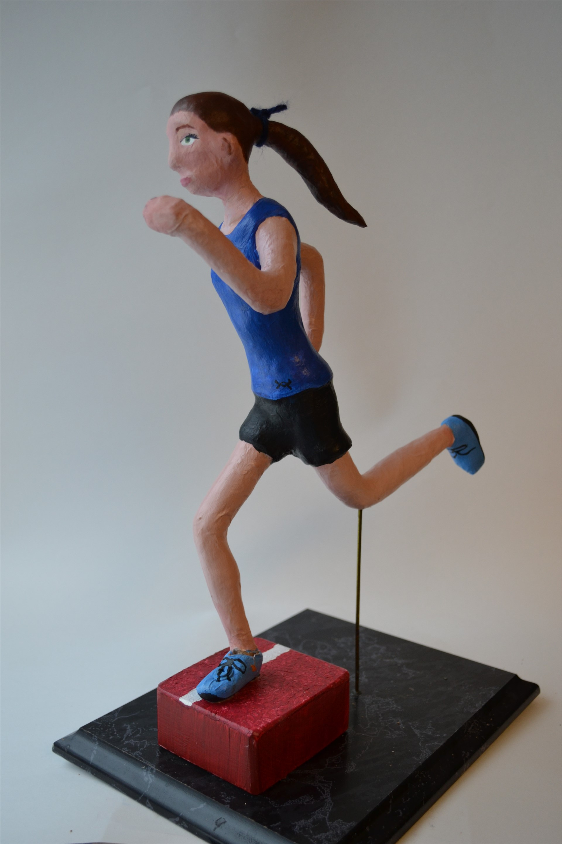 VICTORIA PROUTY, Runner, mixed media, 2015
