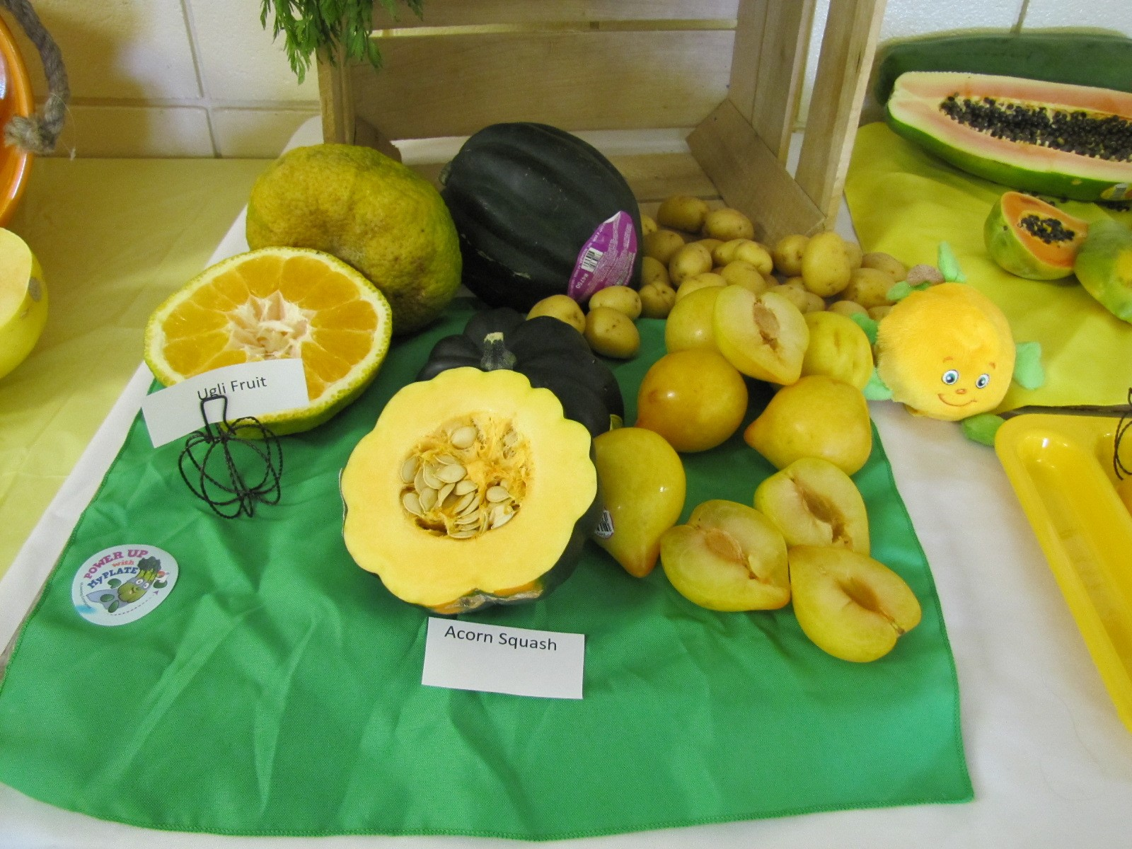 Yellow Orange Fruits and Vegetables Day