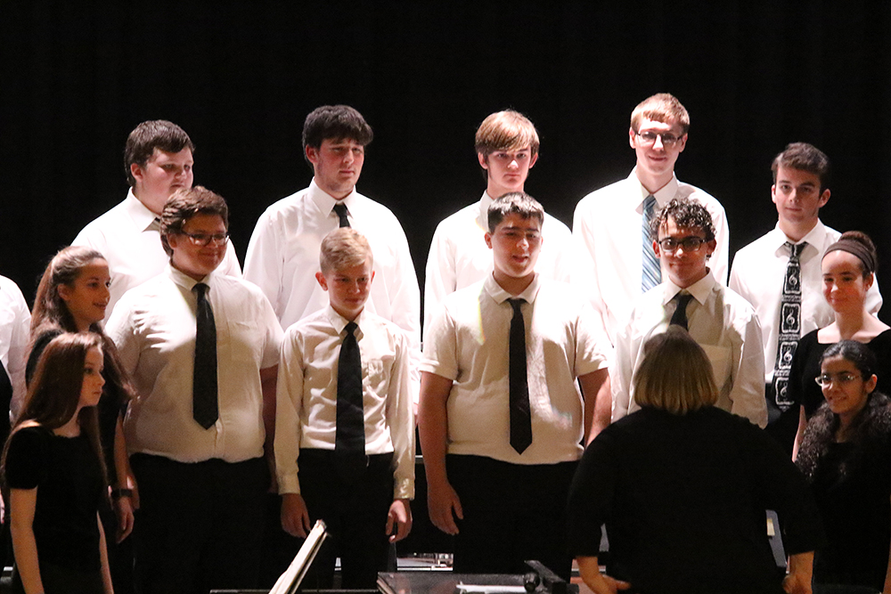 High school fall concert in November 2017