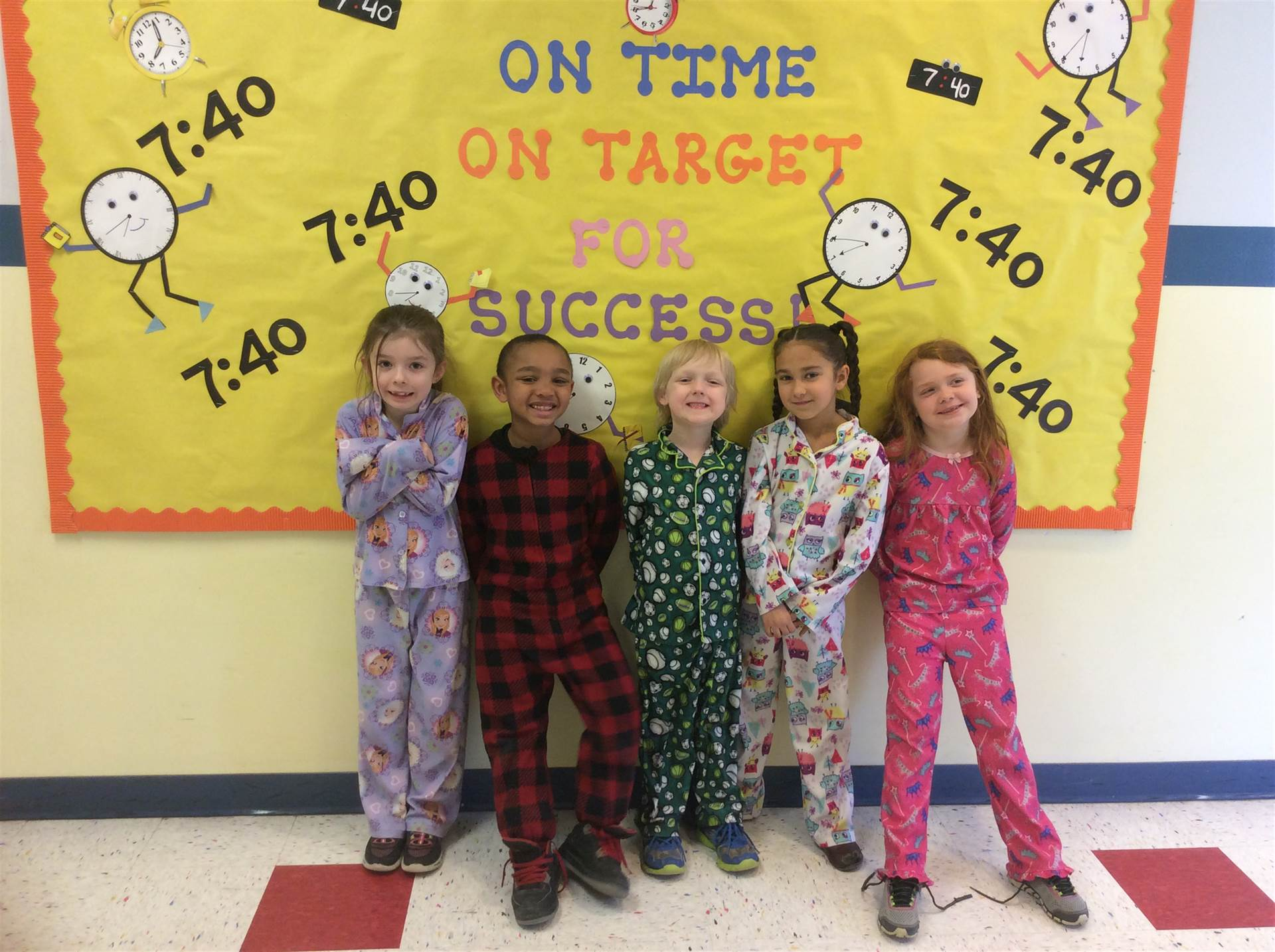 First grade Pajama Day