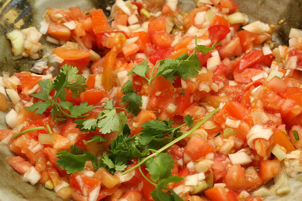 Pico de Gallo at the Common Ground taste testing