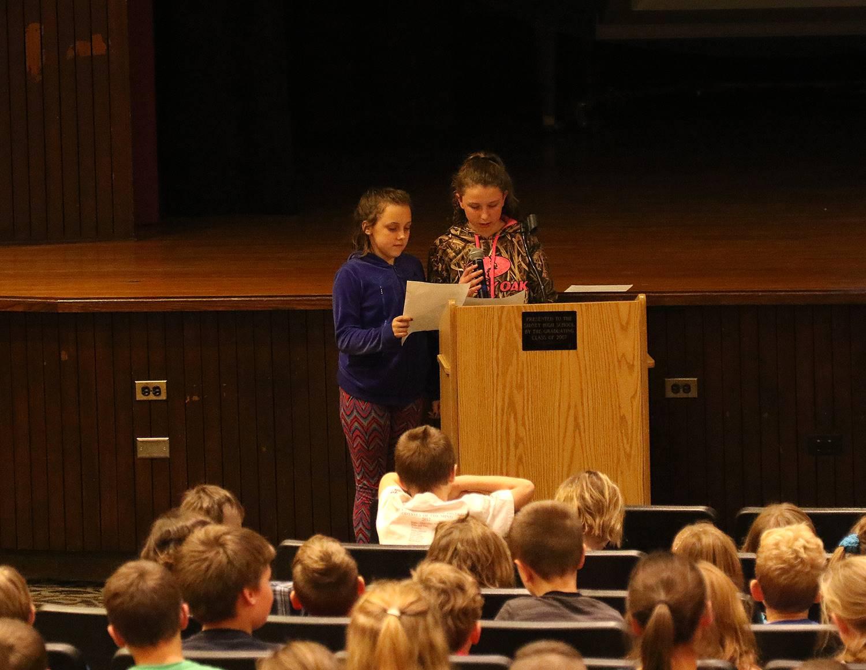 Assemblies for Veterans Day