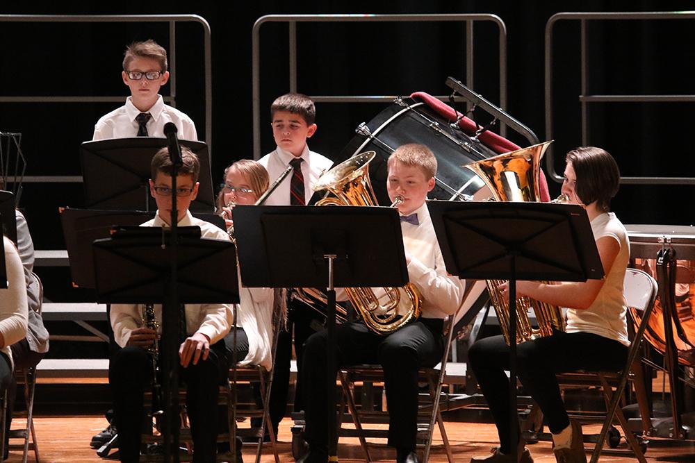 7-8 chorus and band concert