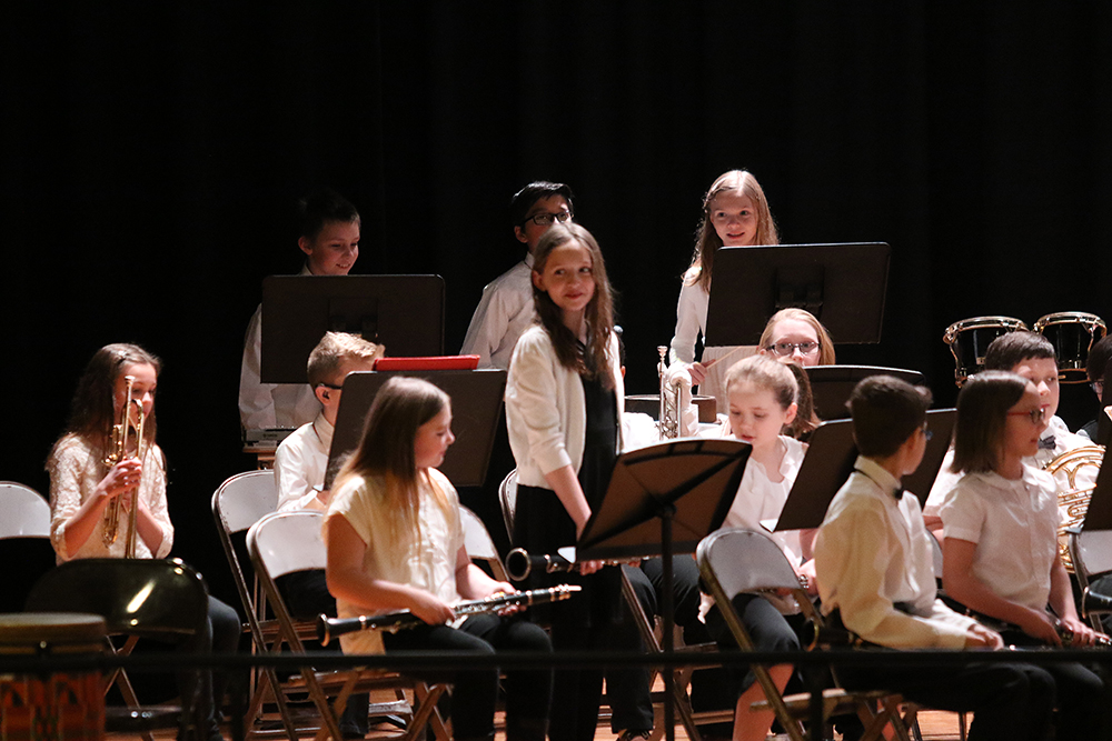 5-6 chorus and band concert