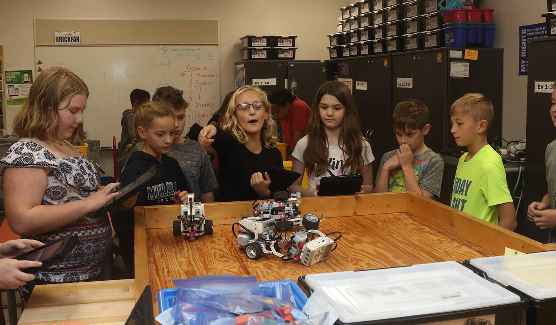 Robotics demo derby: October 2018