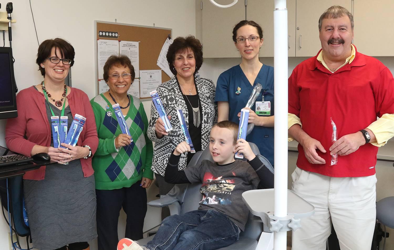School-based health clinic open house