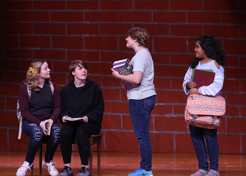 2018 Sidney Drama production of Characters