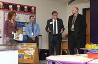 State Senator Seward visits Sidney Elementary