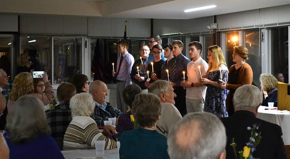 Rotary honors Sidney seniors on National Honor Society
