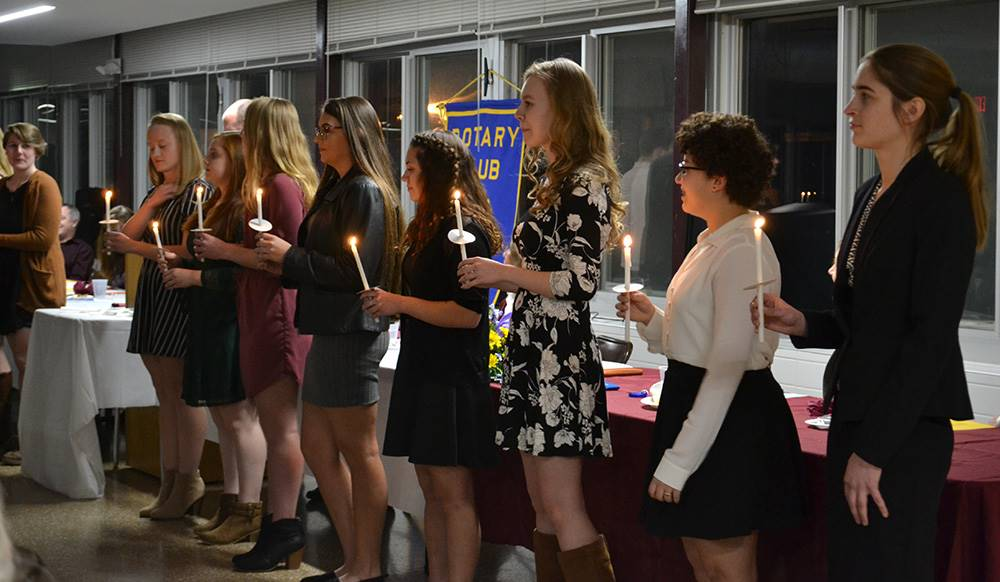 Rotary honors Sidney seniors on National Honor Society