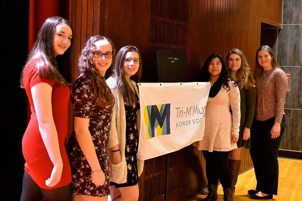 NHS/Tri-M Induction ceremonies 2018