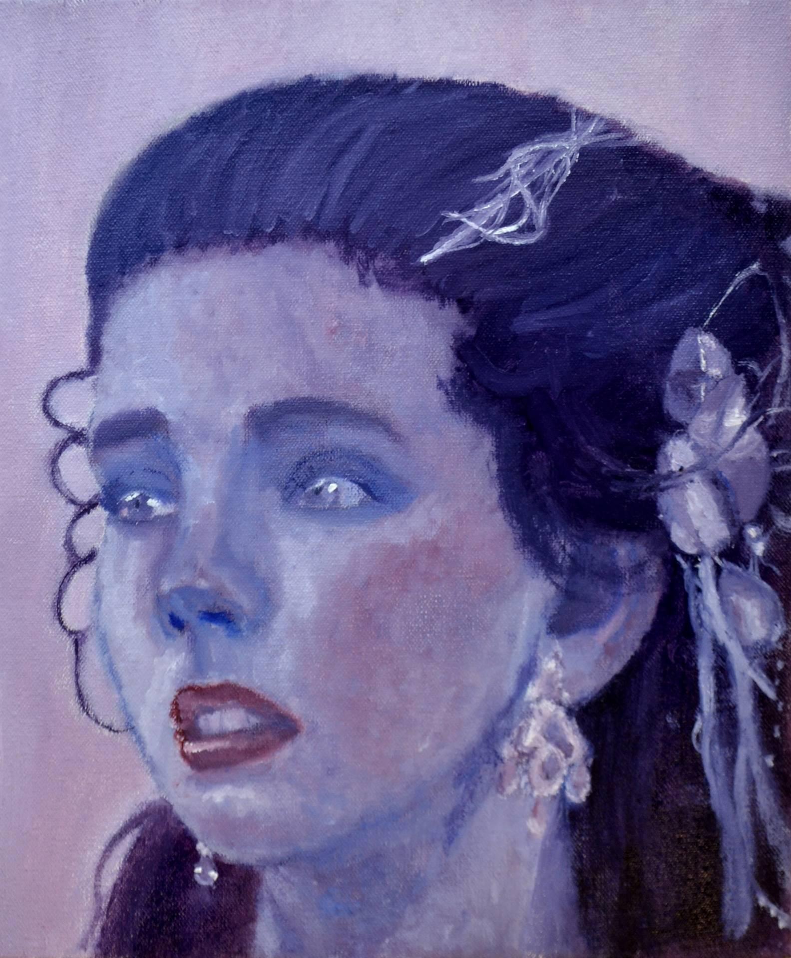 Chyenne Barclay-Fiasco, Milady, oil on canvas, 2016