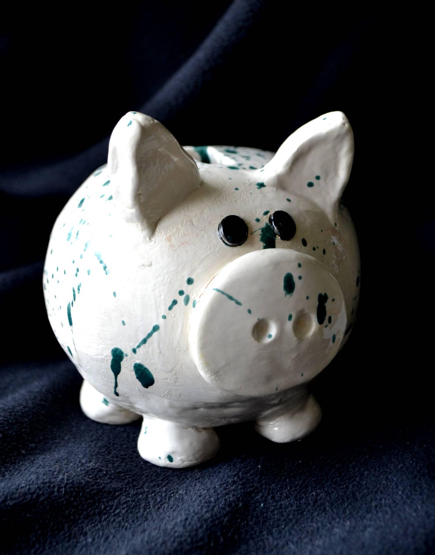 Sarah Bessett, Piggy Bank, glazed ceramic, 2017
