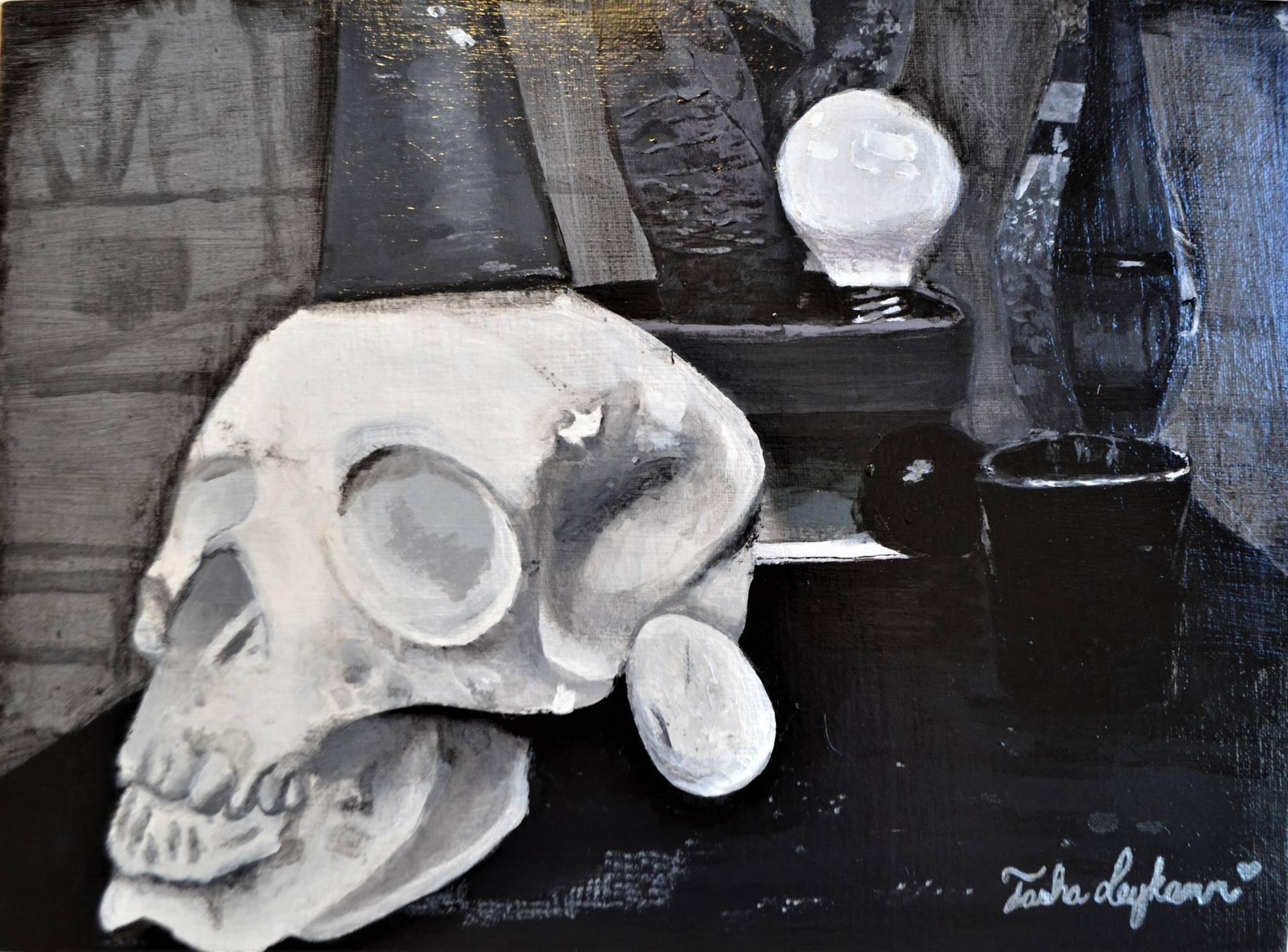 Tasha Leykamm, acrylic, Advanced Painting