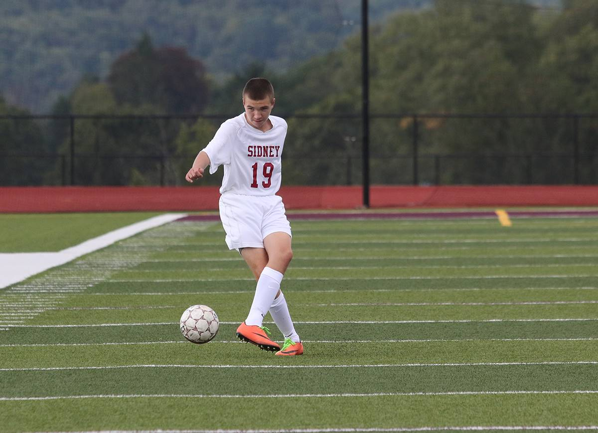 Sidney vs. Afton boys soccer: September 2018