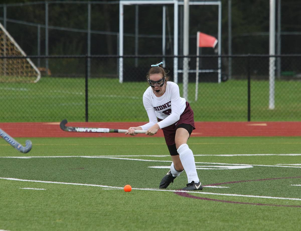 Sidney field hockey vs. Owego: September 2018