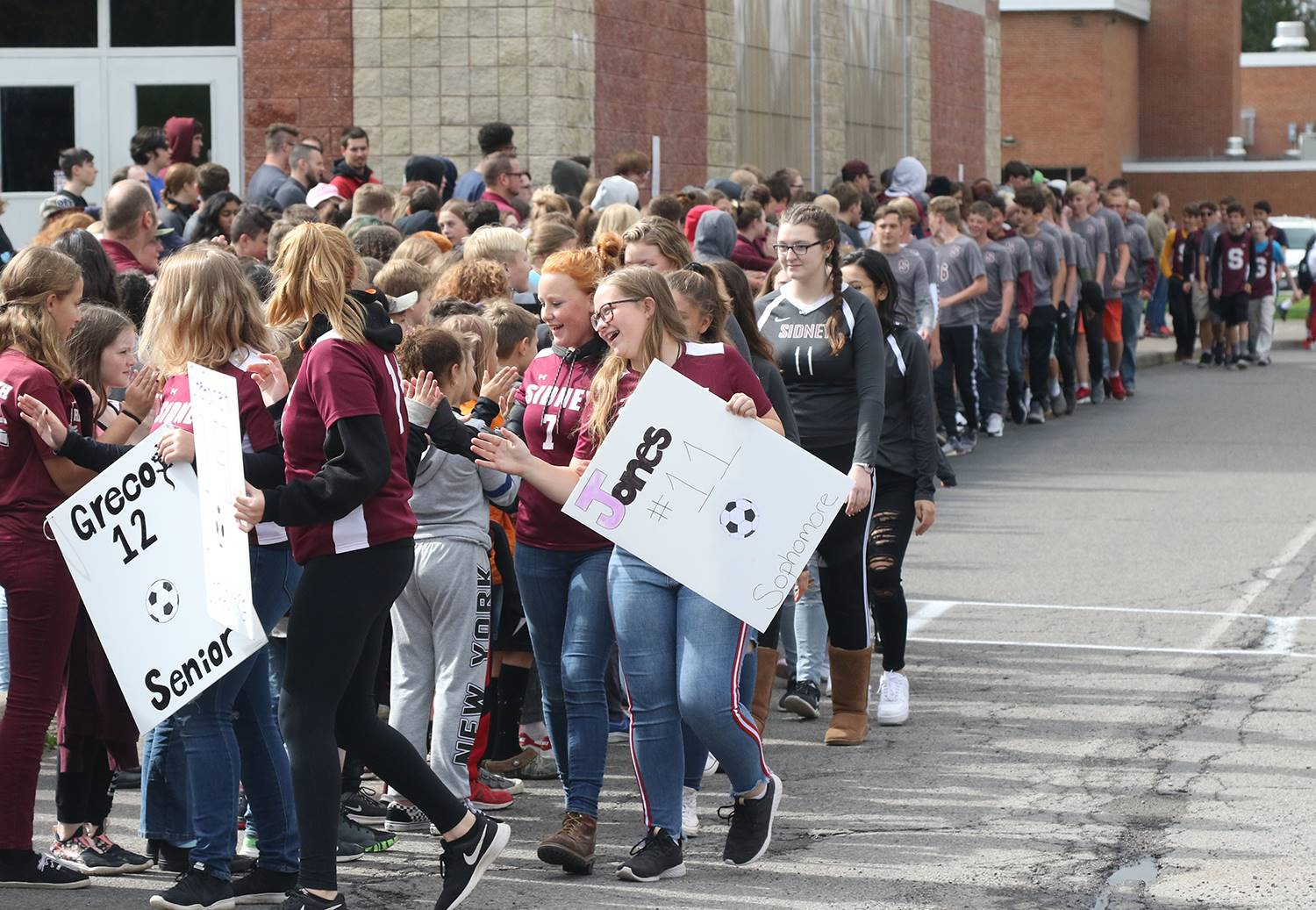 Sidney CSD Homecoming Parade 2019