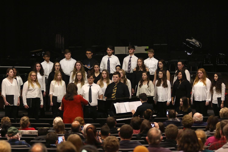 High school winter concert 2018