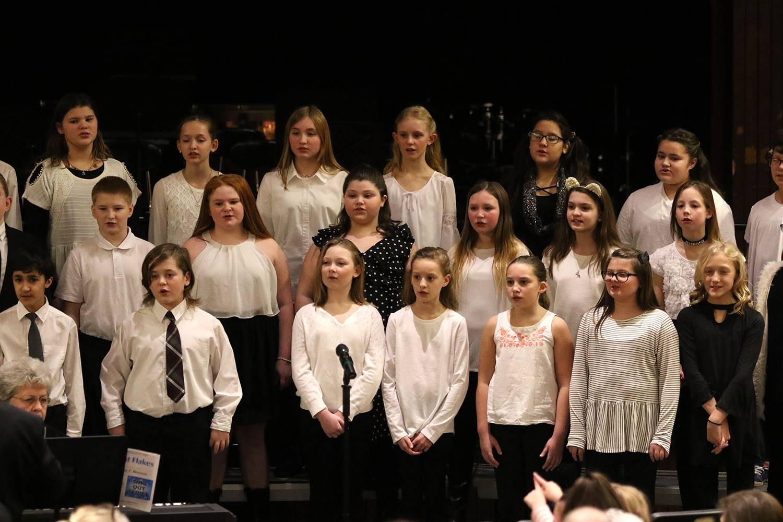 Grades 5-6 concert
