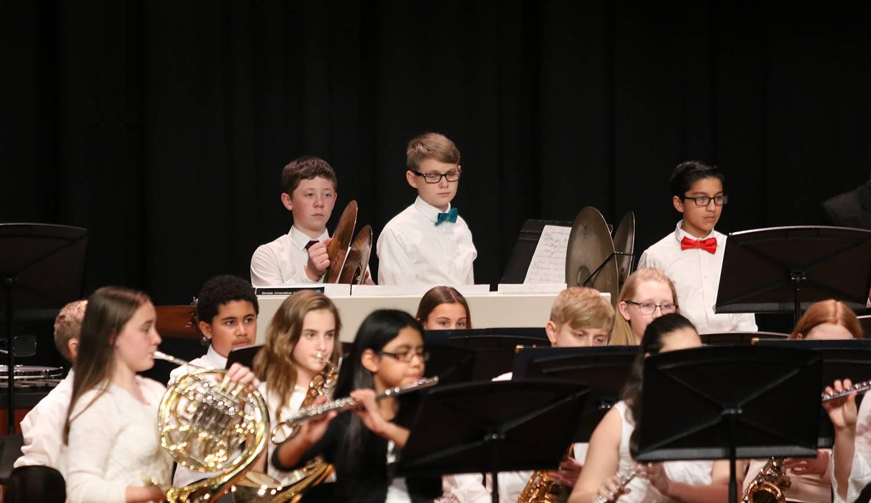 Grades 7-8 concert