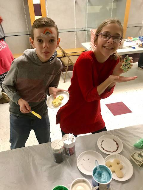Junior high Activity Night: December 2018