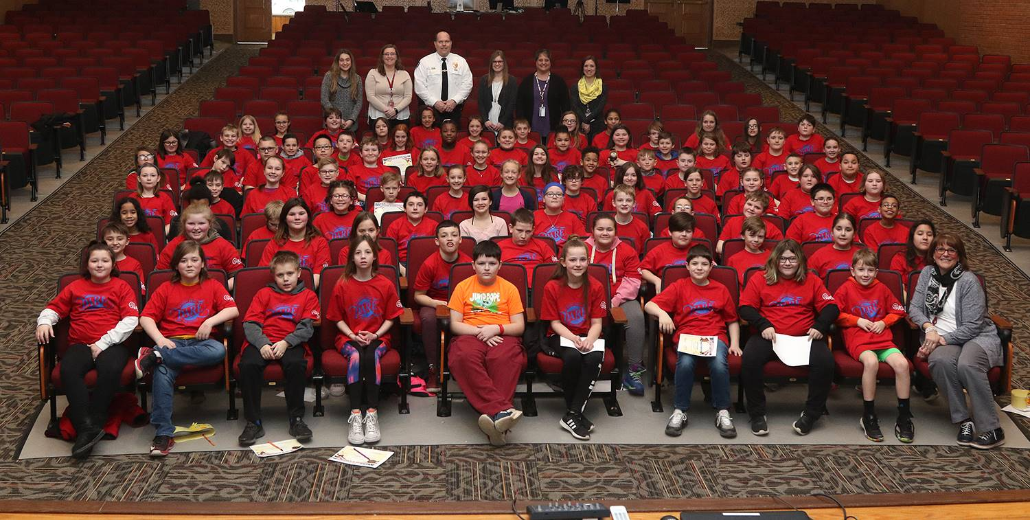D.A.R.E. graduation ceremony 2019