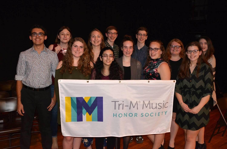 National Honor Society and Tri-M Honor Society inductions 2019National Honor Society and Tri-M Honor