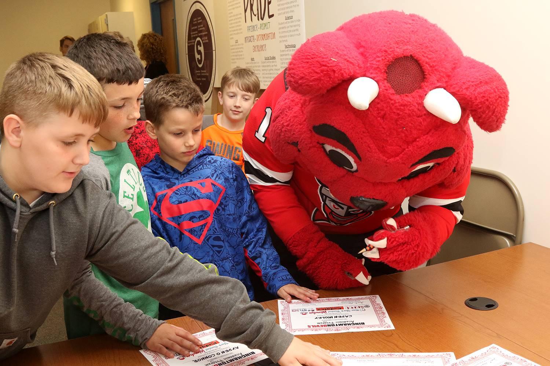 Binghamton Devils visit Sidney CSD